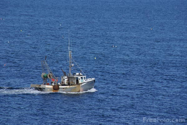 Picture of Lobster Boat, Rockport, Massachusetts, USA - Free Pictures - FreeFoto.com