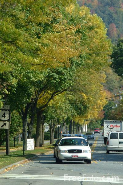 Picture of Woodstock, Vermont - Free Pictures - FreeFoto.com