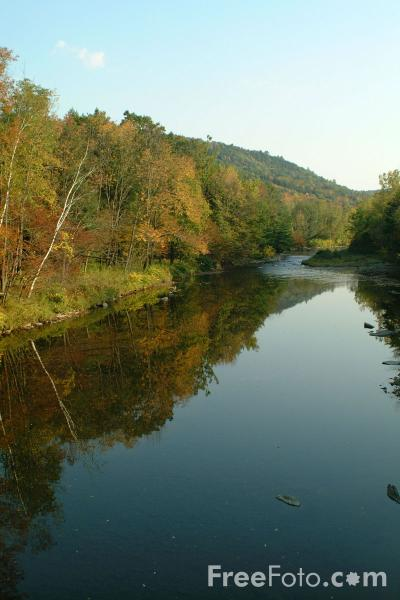 Picture of Williams River, Vermont - Free Pictures - FreeFoto.com