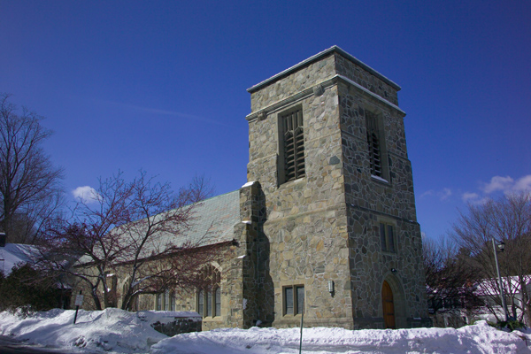 Picture of St. James Episcopal Church, Woodstock, Vermont, New England, USA - Free Pictures - FreeFoto.com