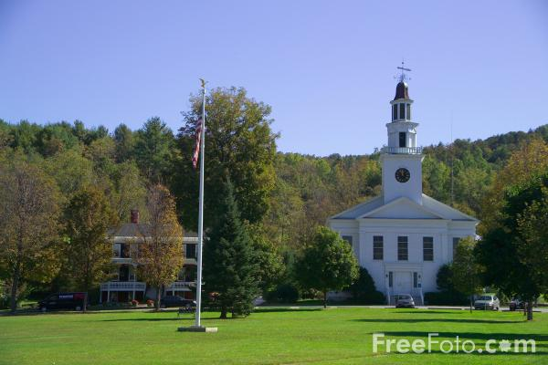 Picture of Chelsea, Vermont, New England, USA - Free Pictures - FreeFoto.com