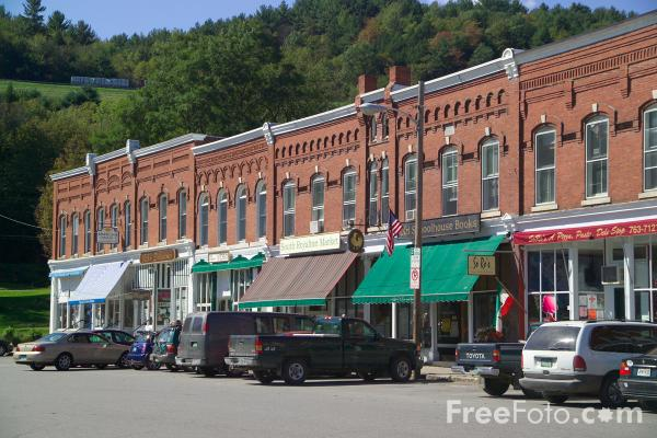 Picture of South Royalton, Vermont, New England, USA - Free Pictures - FreeFoto.com