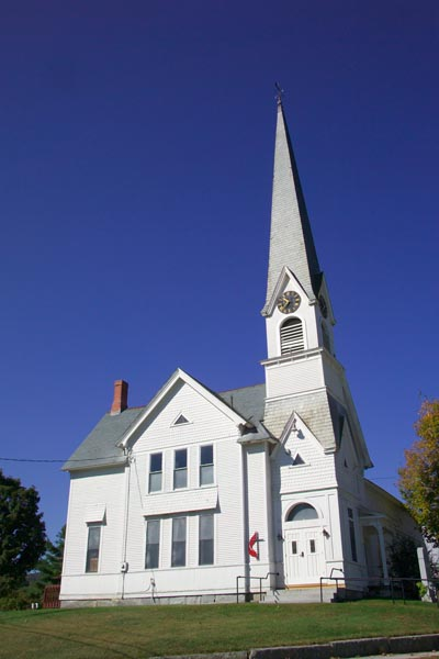 Picture of United Methodist Church, Groton, Vermont, New England, USA - Free Pictures - FreeFoto.com