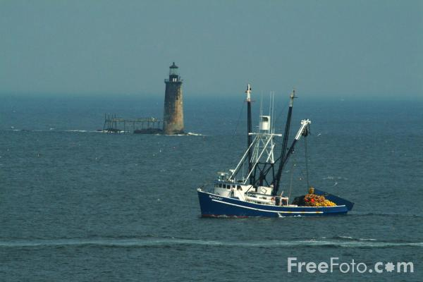 Fishing boat portland head maine pictures free use for Maine fishing laws