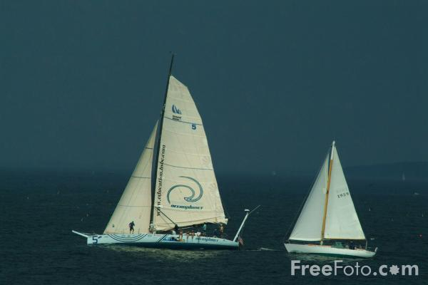 Picture of Sailing, Portland Head, Maine - Free Pictures - FreeFoto.com