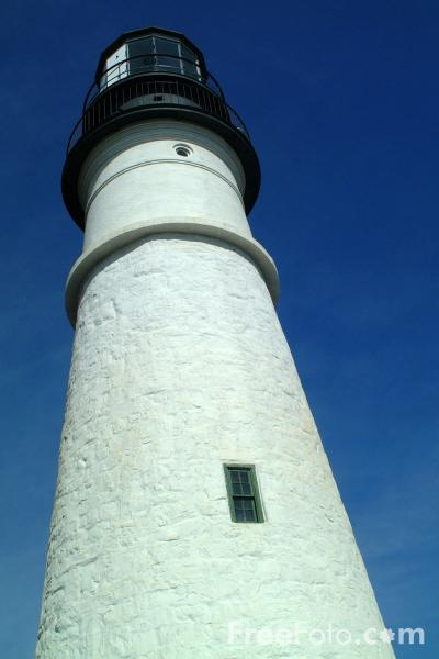Picture of Portland Head Lighthouse, Maine - Free Pictures - FreeFoto.com