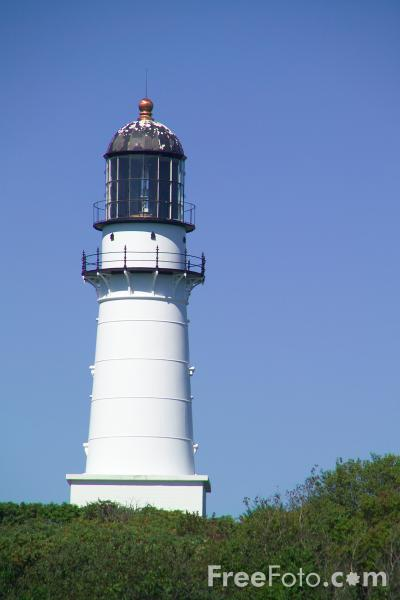 Picture of Lighthouse, Two Lights State Park, Maine - Free Pictures - FreeFoto.com