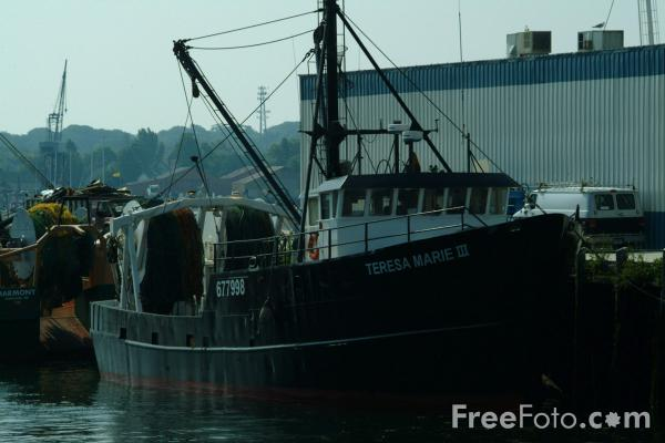 Picture of Fishing Boat, Portland, Maine, USA - Free Pictures - FreeFoto.com