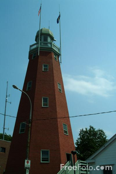 Picture of Portland Observatory , Portland, Maine, USA - Free Pictures - FreeFoto.com