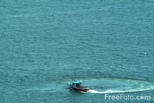 Picture of Lobster Boat, Acadia National Park, Maine, USA - Free Pictures - FreeFoto.com