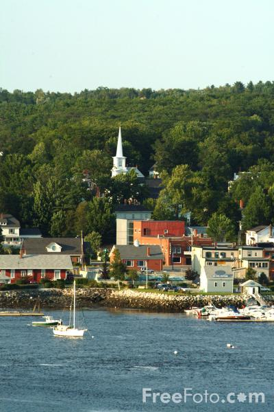 Picture of Bucksport, Maine, USA - Free Pictures - FreeFoto.com