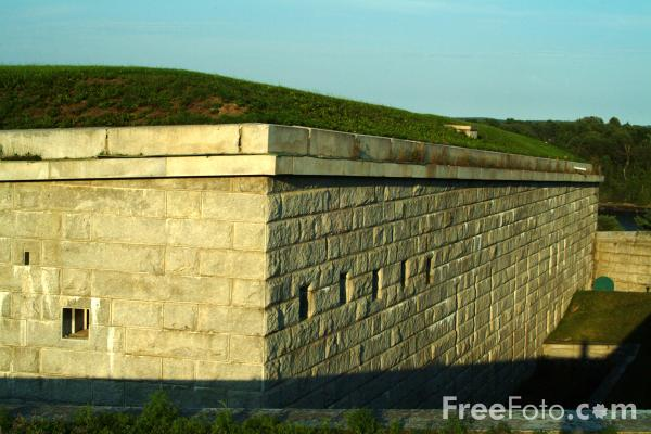 Picture of Fort Knox, Penobscot River, Maine, USA - Free Pictures - FreeFoto.com
