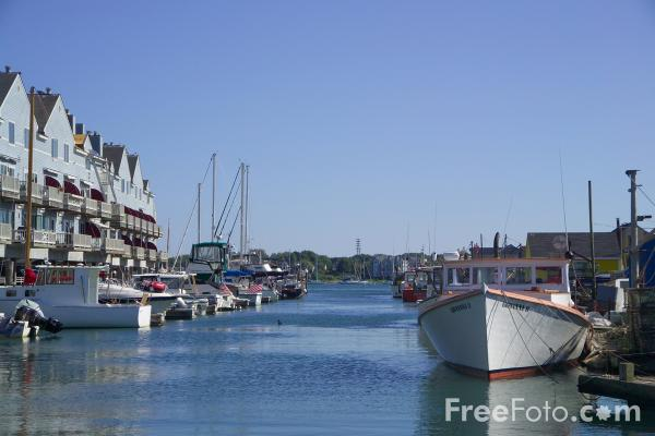 Picture of Waterfront, Portland, Maine, USA - Free Pictures - FreeFoto.com