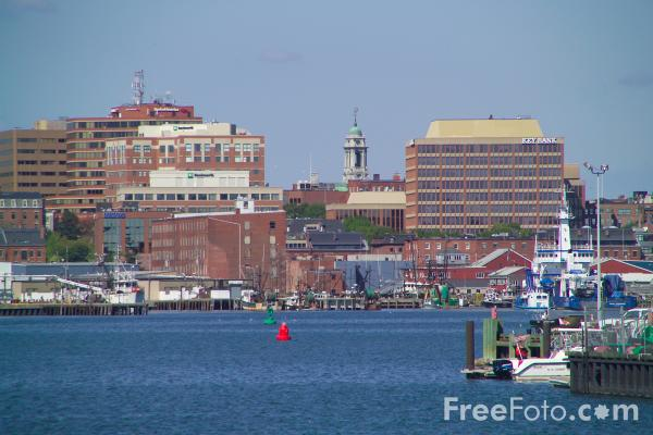 Picture of Portland, Maine, USA - Free Pictures - FreeFoto.com