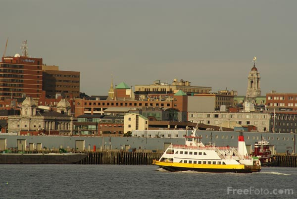 Picture of Casco Bay Lines Ferry, Portland, Maine, USA - Free Pictures - FreeFoto.com