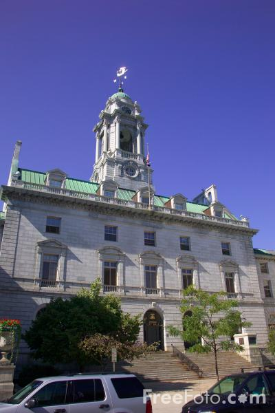 Picture of City Hall, Portland, Maine, USA - Free Pictures - FreeFoto.com