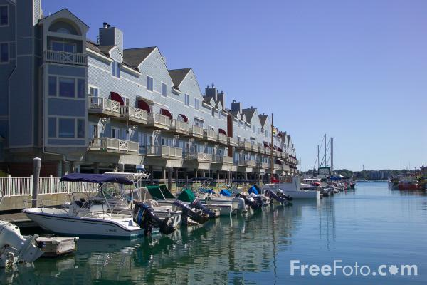 waterfront portland maine usa pictures free use image
