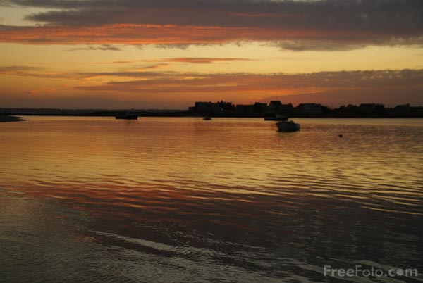 Picture of Sunset, Prouts Neck, Maine, USA - Free Pictures - FreeFoto.com