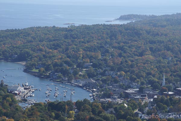 Picture of Camden, Maine, USA - Free Pictures - FreeFoto.com