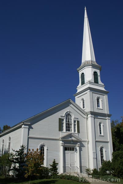 Picture of First Congregational Church, Camden, Maine, USA - Free Pictures - FreeFoto.com