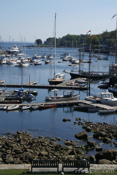 Picture of Camden Harbor, Maine, USA - Free Pictures - FreeFoto.com