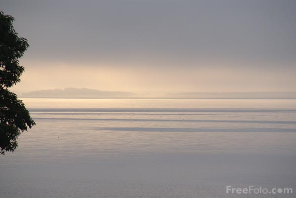 Picture of Misty Morning Belfast Bay, Maine, USA - Free Pictures - FreeFoto.com
