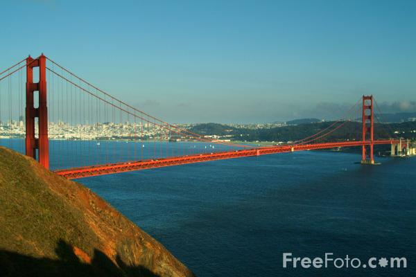 The Golden Gate Bridge, San Francisco, California pictures, free ...