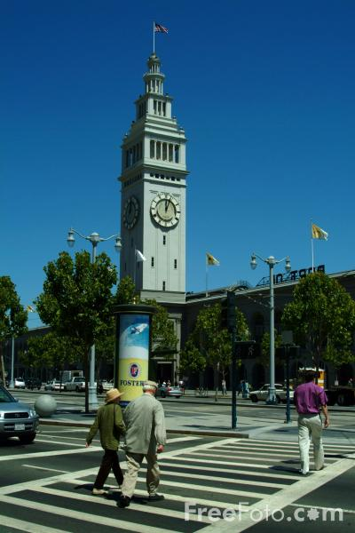 Picture of Ferry Building, San Francisco, California - Free Pictures - FreeFoto.com