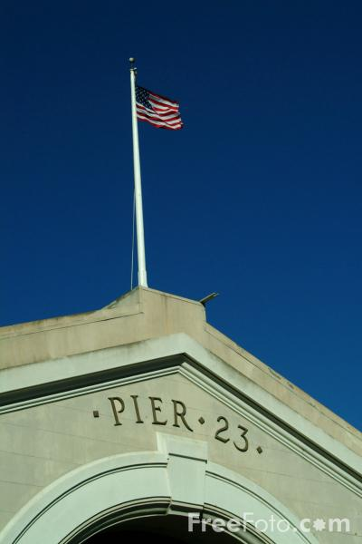 Picture of Pier 23, San Francisco, California - Free Pictures - FreeFoto.com