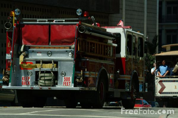 Picture of San Francisco Fire Department, San Francisco, California - Free Pictures - FreeFoto.com