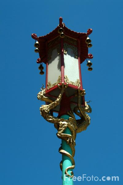 Picture of Chinatown, San Francisco, California - Free Pictures - FreeFoto.com