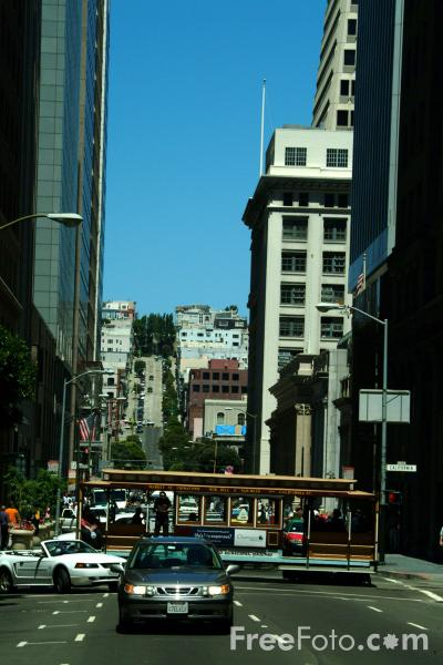 Picture of Streets of San Francisco, California - Free Pictures - FreeFoto.com
