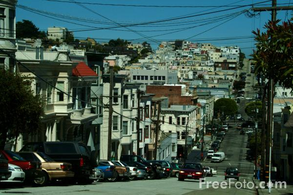 Streets Of San Francisco California Pictures Free Use