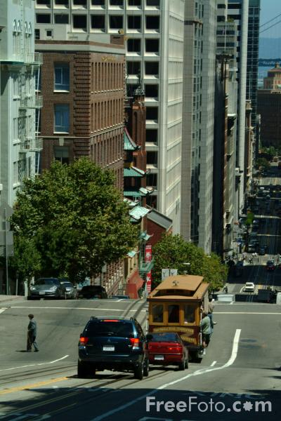 Picture of California Street , San Francisco, California - Free Pictures - FreeFoto.com