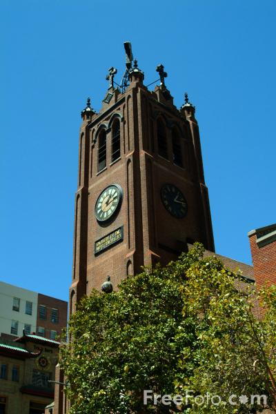 Picture of Old Saint Mary's Cathedral, San Francisco, California - Free Pictures - FreeFoto.com