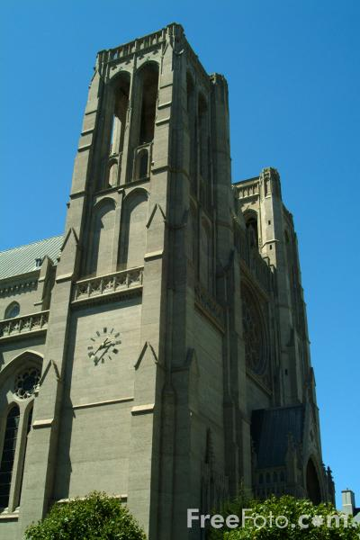 Picture of Grace Episcopal Cathedral, San Francisco, California - Free Pictures - FreeFoto.com
