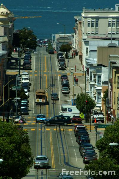 Picture of Mason Street,  San Francisco, California - Free Pictures - FreeFoto.com