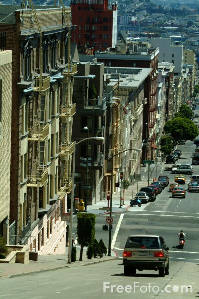 Picture of Jones Street ,  San Francisco, California - Free Pictures - FreeFoto.com