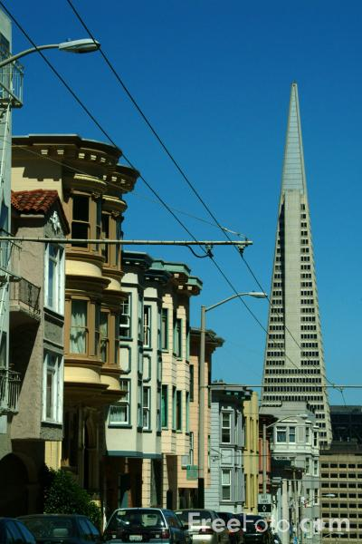 Picture of TransAmerica Pyramid,  San Francisco, California - Free Pictures - FreeFoto.com