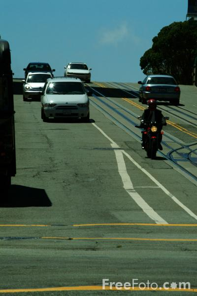 Picture of Traffic,  San Francisco, California - Free Pictures - FreeFoto.com