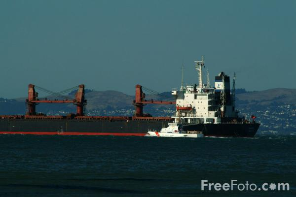 Picture of San Francisco Bay, California - Free Pictures - FreeFoto.com
