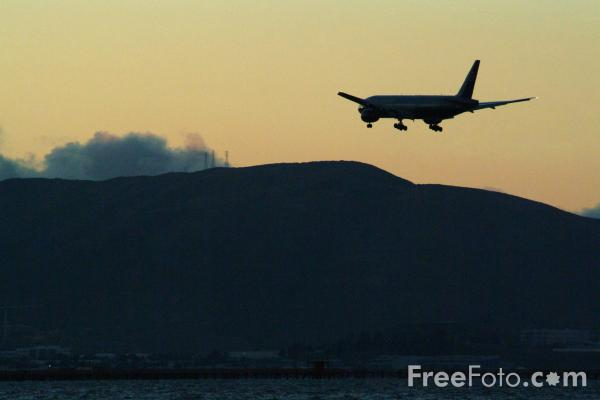 Picture of San Francisco Airport, California - Free Pictures - FreeFoto.com