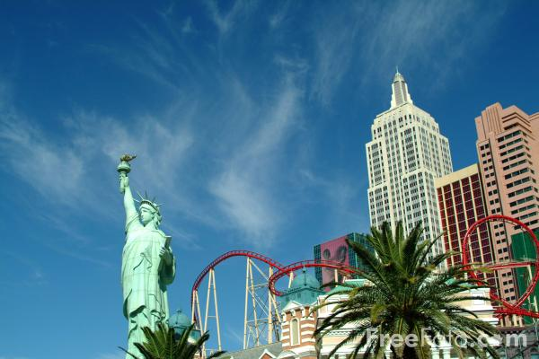 Picture of New York New York, Las Vegas, Nevada, USA - Free Pictures - FreeFoto.com
