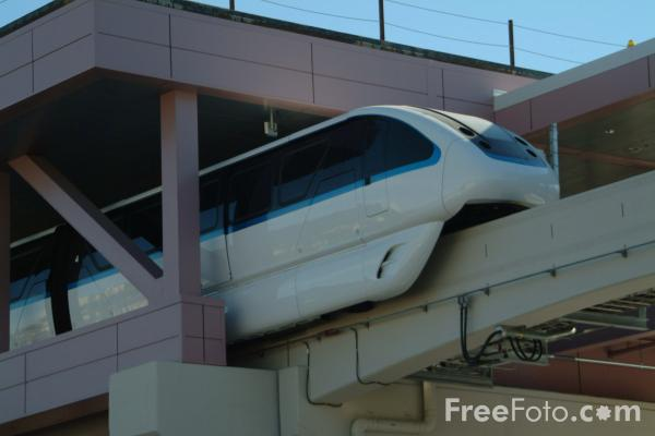 Picture of Monorail System, Las Vegas, Nevada, USA - Free Pictures - FreeFoto.com
