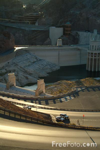 Picture of Hoover Dam, Nevada, USA - Free Pictures - FreeFoto.com
