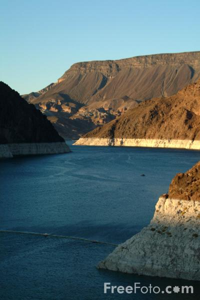 Picture of Lake Mead, Hoover Dam, Nevada, USA - Free Pictures - FreeFoto.com