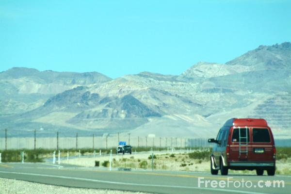 Picture of Route 95, Amargosa Valley, Nevada, USA - Free Pictures - FreeFoto.com