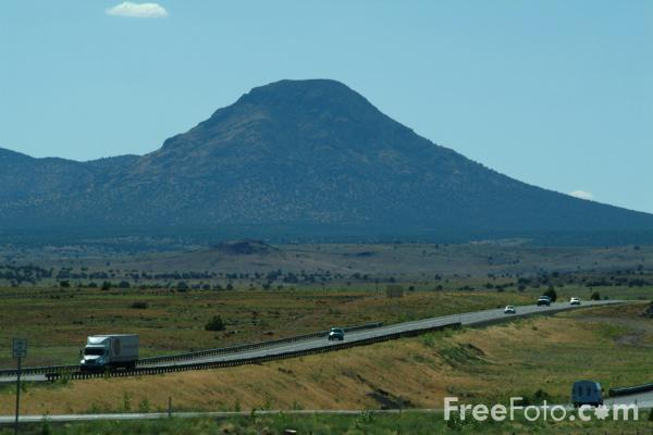 Picture of Interstate 40, Arizona, USA - Free Pictures - FreeFoto.com