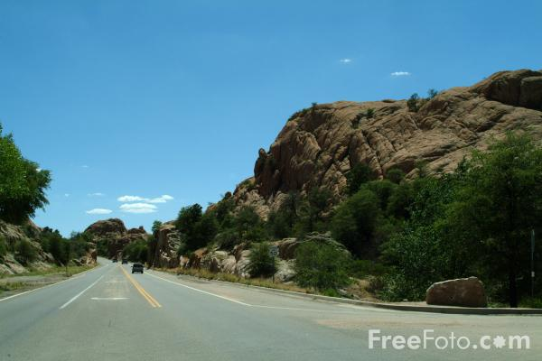 Picture of Route 89 near Prescott, Arizona, USA - Free Pictures - FreeFoto.com