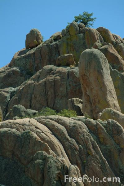 Picture of Rock Outcrop near Prescott, Arizona, USA - Free Pictures - FreeFoto.com